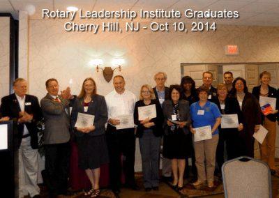 Cherry Hill graduates